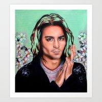 Mr. Depp Art Print