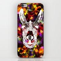 Wonky Donkey Flower  iPhone & iPod Skin
