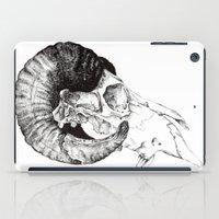 Skull study iPad Case