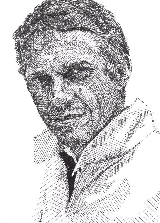 Steve Art Print