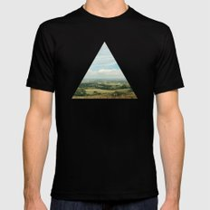 I Can See For Miles Mens Fitted Tee Black SMALL