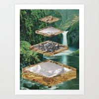 Four Landscapes Art Print
