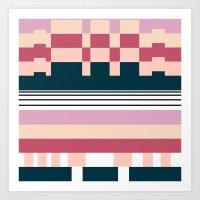 Raspberry Parfait Art Print
