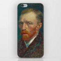 Vincent Van Gogh Self-Portrait iPhone & iPod Skin
