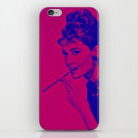 Pop glamour iPhone & iPod Skin