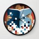 Print to Pixels Wall Clock