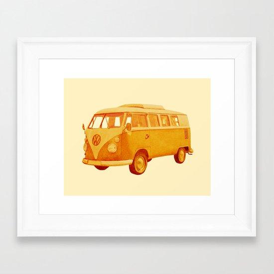 Summer Ride Framed Art Print