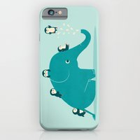 iPhone Cases featuring Waterslide by Jay Fleck