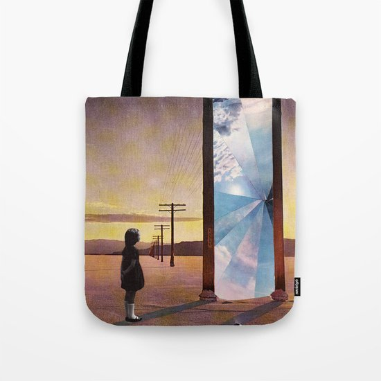 The broken window Tote Bag