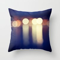 BOKEH 3 Throw Pillow