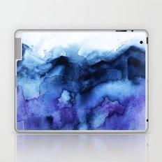 Abstract Indigo Purple Mountians Laptop & iPad Skin