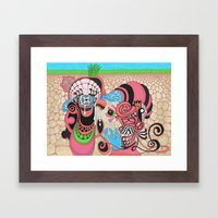 underground production Framed Art Print