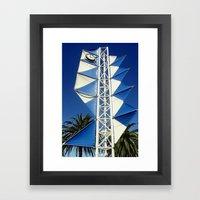 Wind Sails Framed Art Print