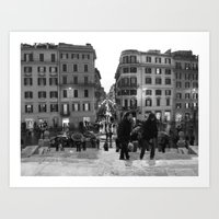 A Nice Day to be a Tourist Art Print