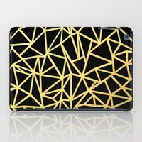Abstract Outline Thick G… iPad Case