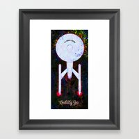 Boldly Go. Framed Art Print