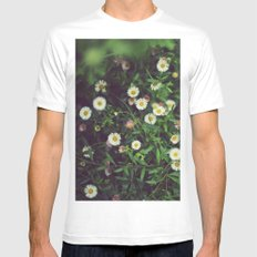 Wildflowers Mens Fitted Tee White SMALL