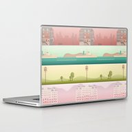A Wes Anderson Collectio… Laptop & iPad Skin