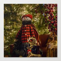 Merry Christams To All!  Canvas Print