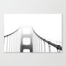 Golden Gate: Fog Canvas Print