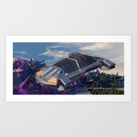Traversi… Art Print