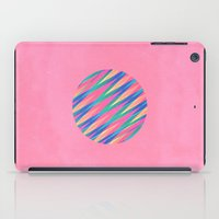 Circle Of Lines iPad Case