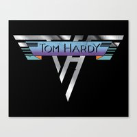 Hot for Hardy Canvas Print