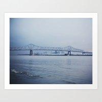 Baton Rouge Art Print