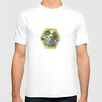 Honeybee Mens Fitted Tee White SMALL