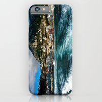 iPhone & iPod Case featuring Leaving Behind the Coast of Amalfi  by JuliHami