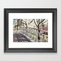 The Bridge:: Nyc Framed Art Print