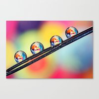 Bits Bobs And Buttons Canvas Print