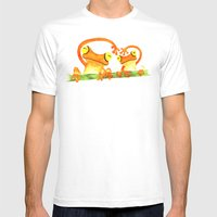 We Heart Mens Fitted Tee White SMALL