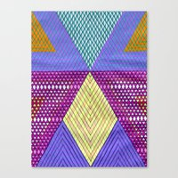 Isometric Harlequin #9 Canvas Print