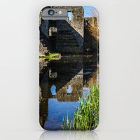 iPhone & iPod Case featuring Reflecting on the Past by Catherine Doolan