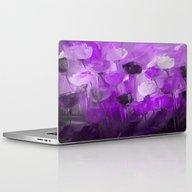 Rose Garden In Shades Of… Laptop & iPad Skin