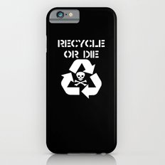 Recycle White iPhone 6s Slim Case