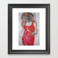 Cheryl Who? Framed Art Print