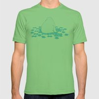 Puzzle Mens Fitted Tee Grass SMALL