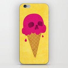 Skull Scoop. iPhone & iPod Skin