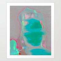 Electric Obake #35 Art Print