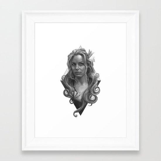 Britta Framed Art Print