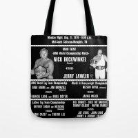 #3-B Memphis Wrestling W… Tote Bag