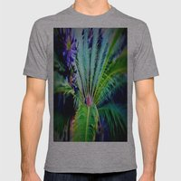 Tropical Plants And Flow… Mens Fitted Tee Athletic Grey SMALL