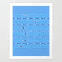 Olympic - Swim 2 Art Print