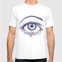 Creep Mens Fitted Tee White SMALL
