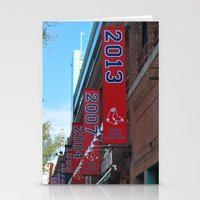 Red Sox - 2013 World Ser… Stationery Cards
