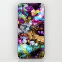 Rainbow Bling iPhone & iPod Skin