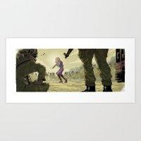 #bringbackourgirls Art Print