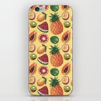 Fruit Pattern iPhone & iPod Skin